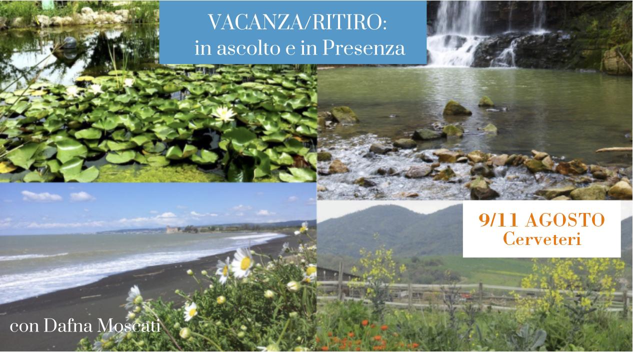 Vacanza/Ritiro: In ascolto e in presenza nella Natura a Cerveteri
