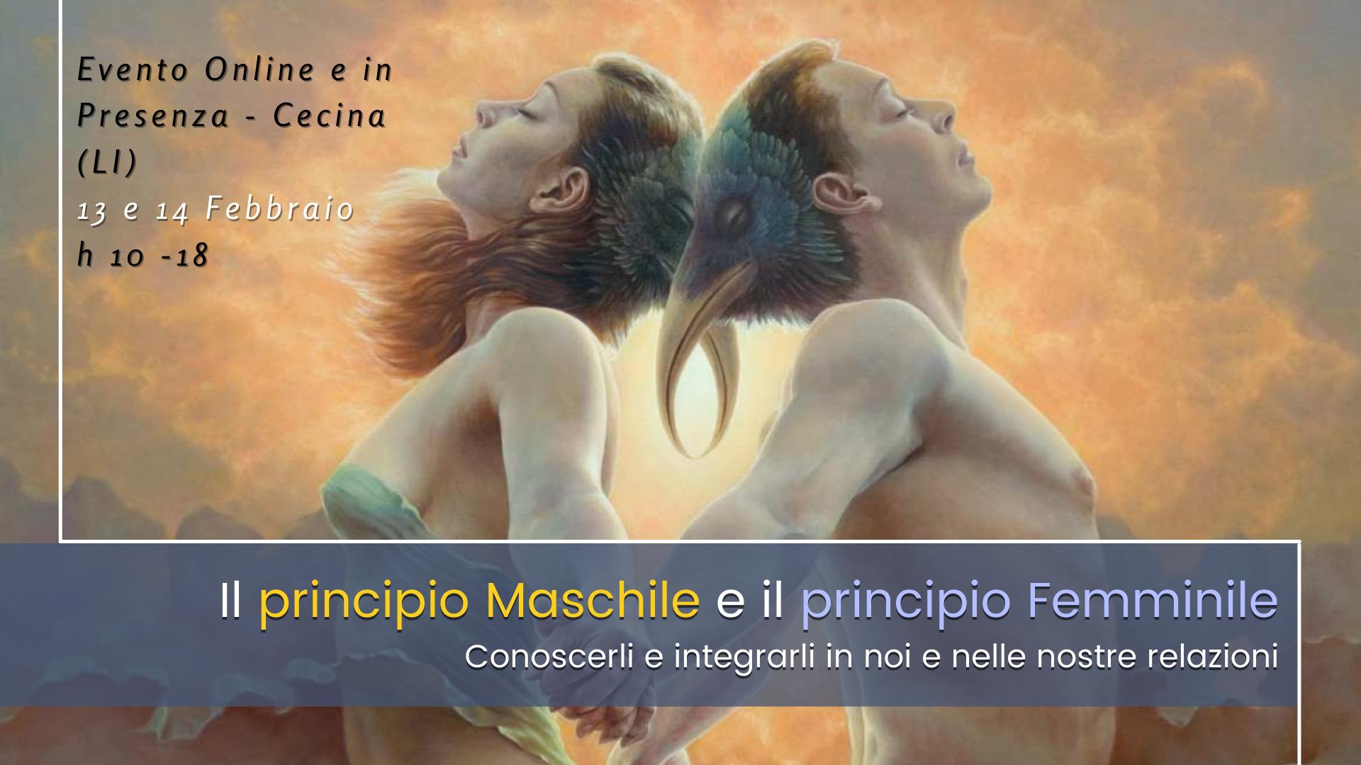 Il principio maschile e il principio femminile